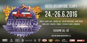 POZVÁNKA NA AKCI: Summer Biker's Party se koná 24.6 – 26.6. 2016